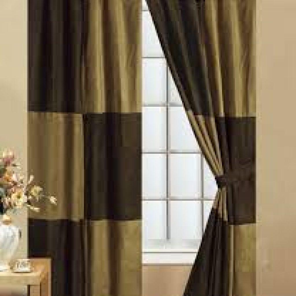 Сшить шторы из двух тканей разных цветов своими руками 48