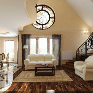 Desain Interior Ruang Tamu megah