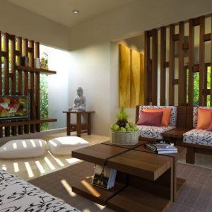 Desain Interior Ruang Tamu unik