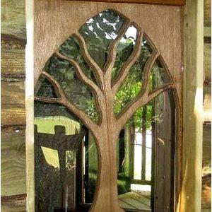 Jendela rumah minimalis kayu