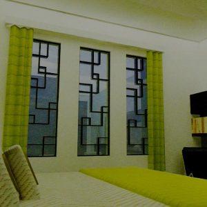 Jendela rumah minimalis trilis besi