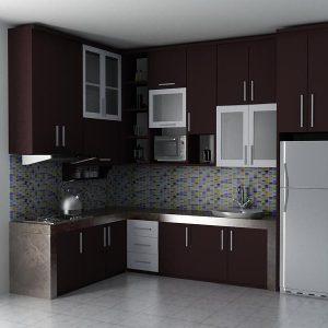 Keren Ini Dia 10 Model Kitchen Set Minimalis Paling Unik