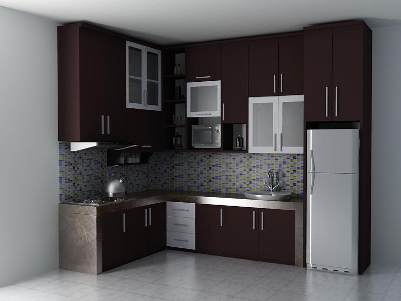 Model Kitchen Set Minimalis 1 Desain Rumah Minimalis