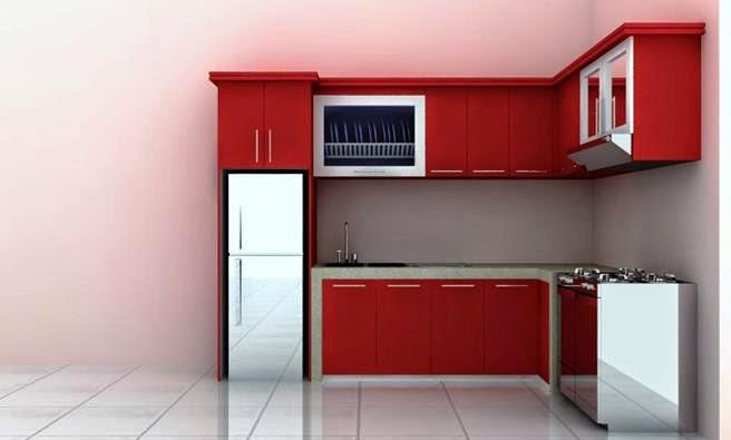 Model Kitchen Set Minimalis 4 Desain Rumah Minimalis