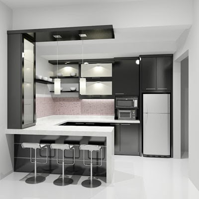 Model Kitchen Set Minimalis 7 Livedesain Com