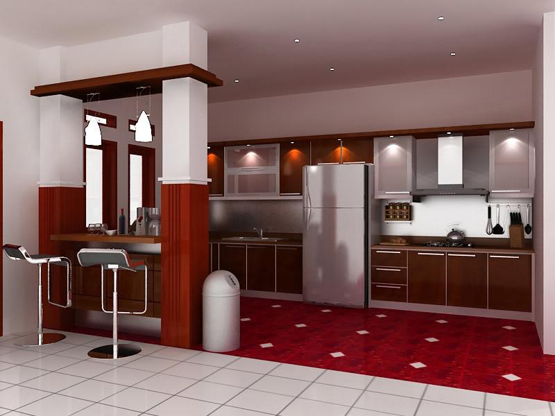 Model Kitchen Set Minimalis 9 Desain Rumah Minimalis