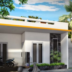 Rumah minimalis sederhana 7