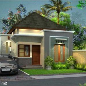 Rumah minimalis sederhana unik