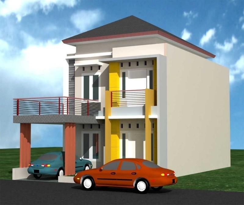 Desain Rumah Minimalis Modern 2 Lantai Tampak Depan With Model Rumah Sederhana Minimalis 2 Lantai Desain Rumah Minimalis