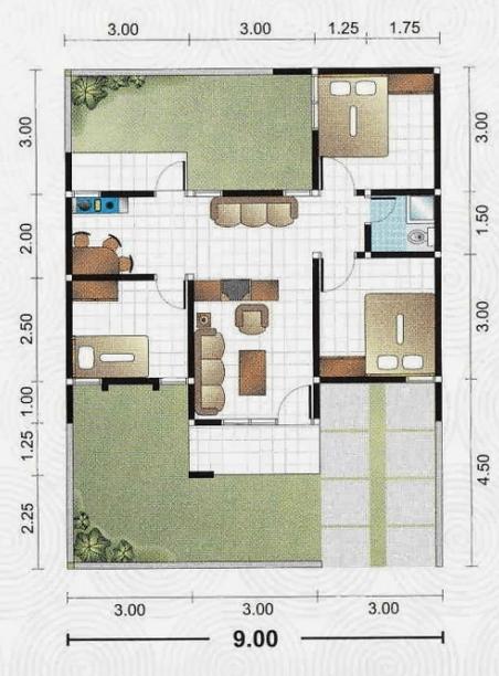 Desain Kamar Mandi Rumah Type 45 Inspirasi Desain Rumah Dan