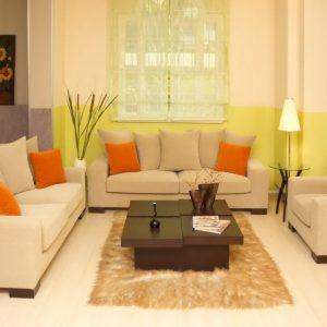 desain ruang tamu minimalis menawan