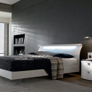 model tempat tidur minimalis mewah