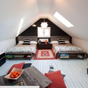 model tempat tidur minimalis tertutup