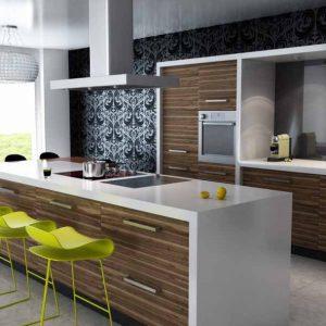 Desain Dapur dan Ruang Makan Terbuka