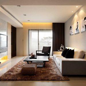 Desain Ruang Keluarga Minimalis