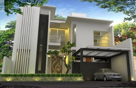 Gambar Rumah Minimalis Modern  Lantai