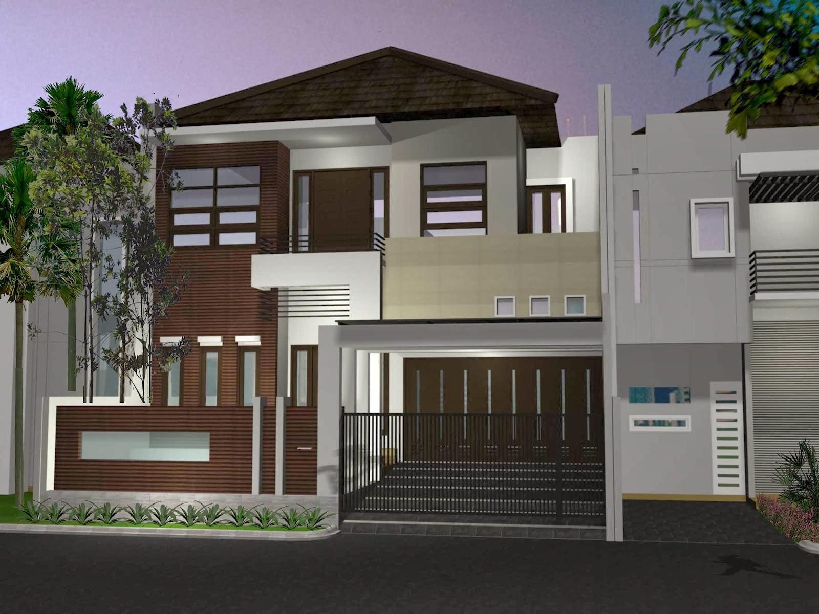 Gambar Rumah Minimalis Modern 2 Lantai 15 Desain Rumah Minimalis