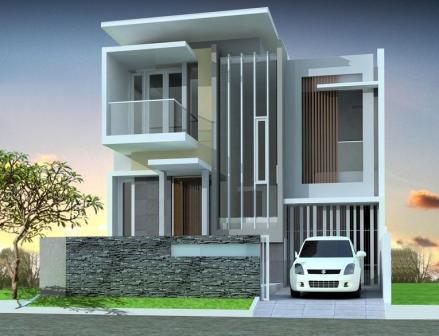gambar rumah minimalis modern 2 lantai 6 - desain rumah