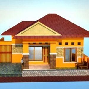 Model Rumah Sederhana Tapi Kelihatan Mewah