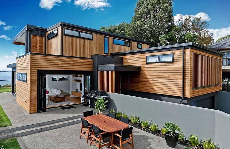 Rumah Kayu Minimalis Terbaru 5 Desain Rumah Minimalis