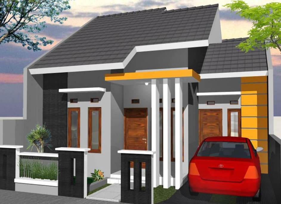 Rumah Minimalis Type 36 1 Lantai Unik Desain Rumah Minimalis