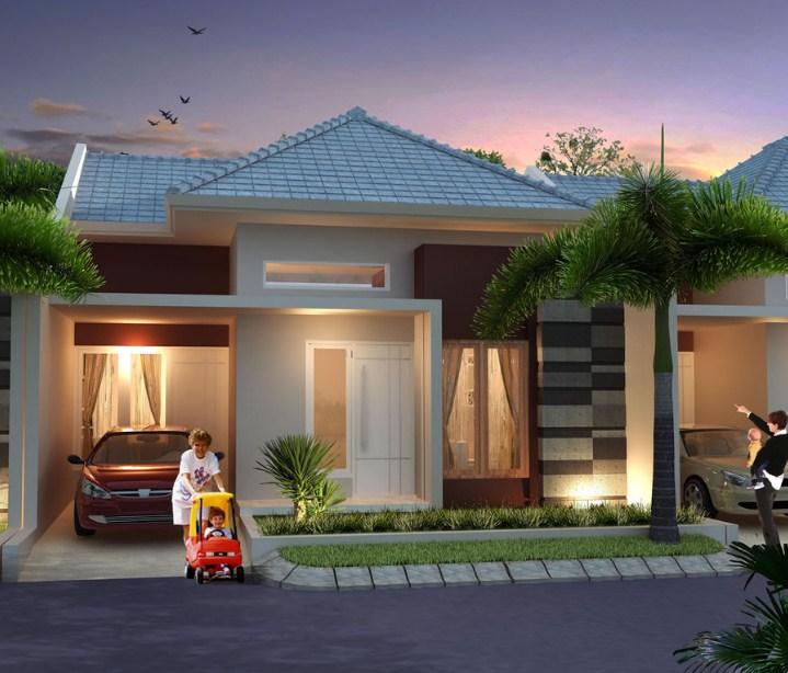 Rumah Minimalis Type 45 Modern 4