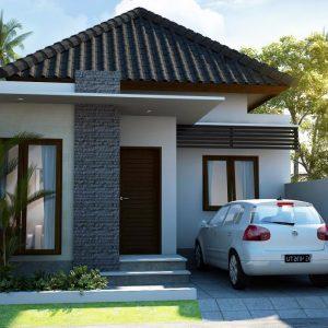 Rumah Minimalis Type 45 Modern