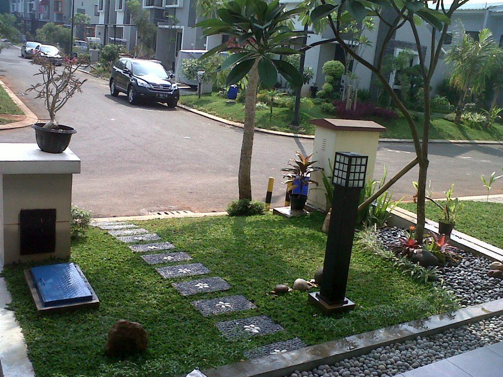 Taman Depan Rumah Minimalis Lahan Sempit 15 Desain Rumah Minimalis