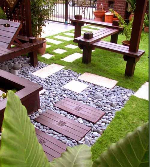 Jasa Desain Rumah: 25 Contoh Taman Depan Rumah Minimalis Lahan Sempit
