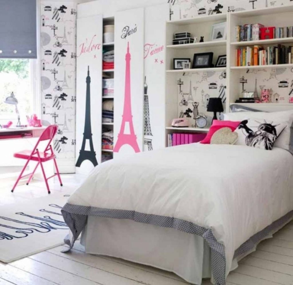 hiasan dinding kamar tidur remaja - desain rumah minimalis