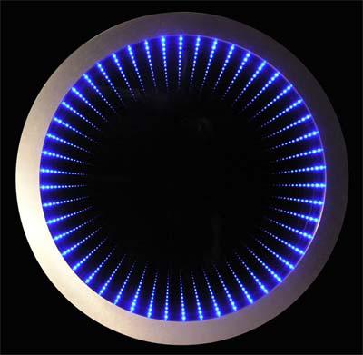 Lampu Ilusi Led Bulat Desain Rumah Minimalis