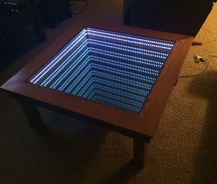 Led Illusion Mirror
