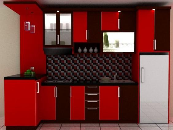 Model Kitchen Set Minimalis 11 Desain Rumah Minimalis