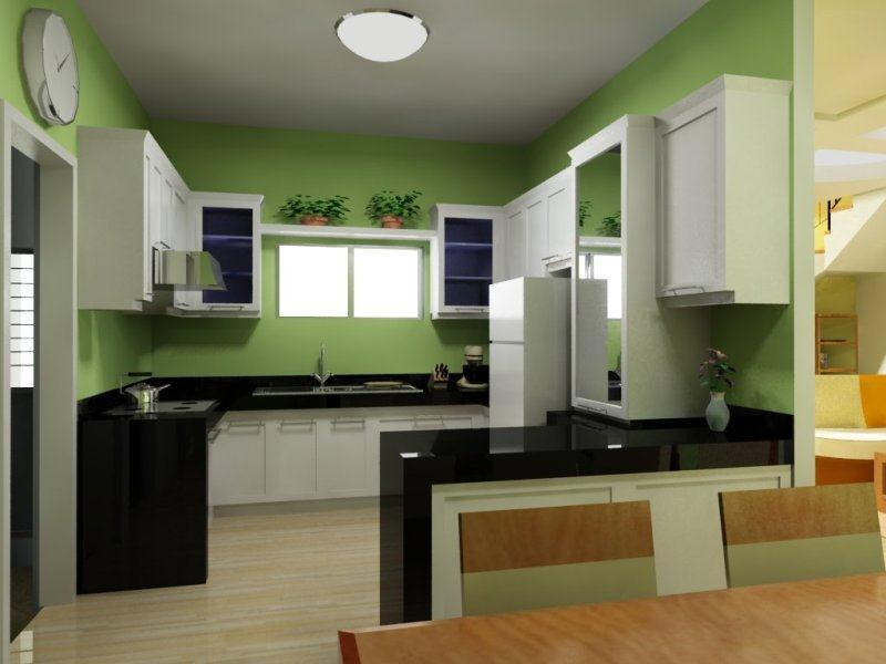 Model Kitchen Set Minimalis 15 Desain Rumah Minimalis