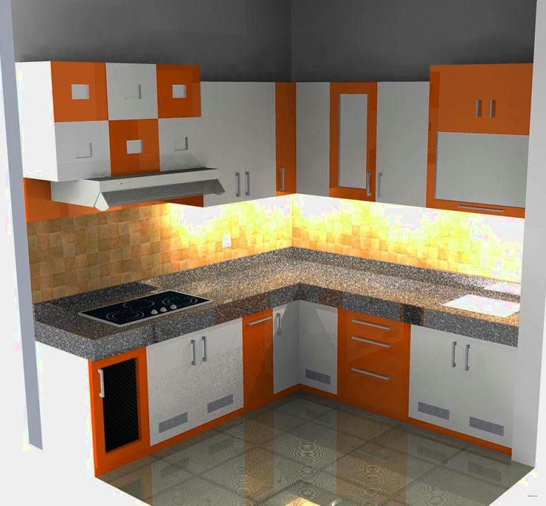 Kitchen Set Rumah Type 36: Model Kitchen Set Minimalis