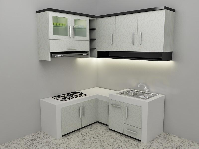 Model Kitchen Set Minimalis 25 Desain Rumah Minimalis