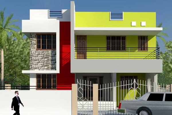 Contoh Warna Cat Rumah Minimalis Tampak Depan Desain Rumah Minimalis