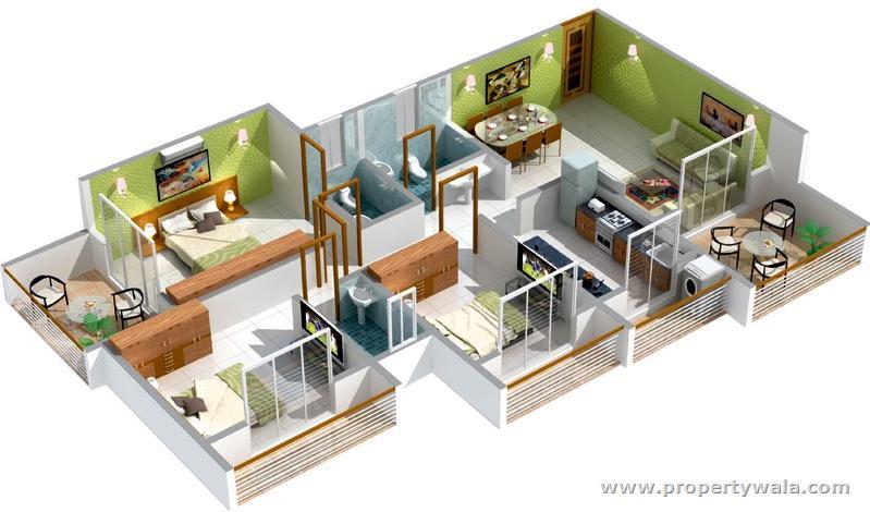 Desain Rumah Minimalis 1 Lantai 3 Kamar Tidur 9 Desain Rumah Minimalis