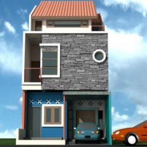 mantap ini dia gambar rumah minimalis 2 lantai type 21