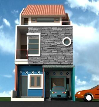 Gambar Rumah Minimalis 2 Lantai Type 21 2 Desain Rumah Minimalis