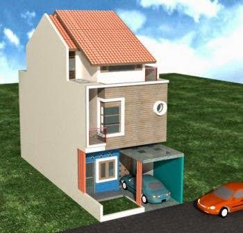 Gambar Rumah Minimalis 2 Lantai Type 21 3 Desain Rumah Minimalis