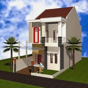 Mantap Ini Dia Gambar Rumah Minimalis 2 Lantai Type 21 Terbaru