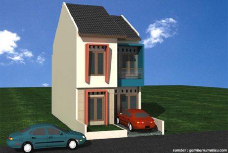 Gambar Rumah Minimalis 2 Lantai Type 21 5 Desain Rumah Minimalis