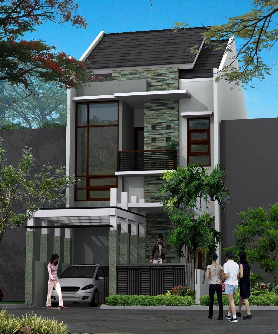 gambar rumah minimalis 2 lantai type 21 9