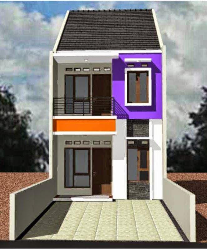 Gambar Rumah Minimalis 2 Lantai Type 21 & Gambar Rumah Minimalis 2 Lantai Type 21 - Desain Rumah Minimalis