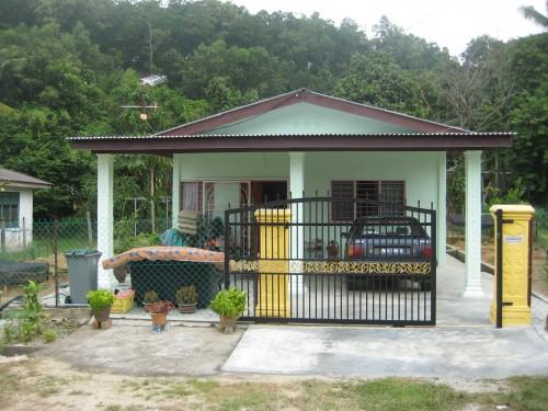 model rumah idaman sederhana di desa 1