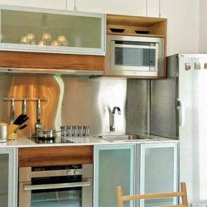 desain dapur sederhana tanpa kitchen set