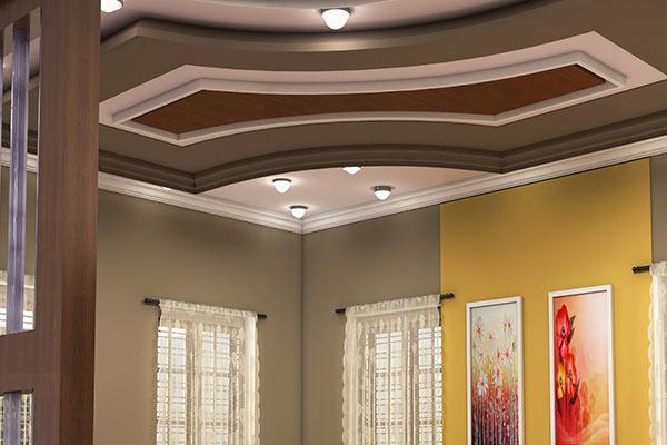 Model Plafon Ruang Tamu Sederhana Mewah Desain Rumah Minimalis