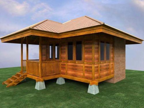 Rumah Idaman Sederhana Desa Keren Kayu Desain Minimalis