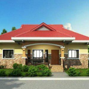 Rumah Idaman Sederhana di Desa Keren
